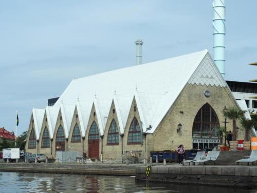Fischmarkt Feskekôrka - die Fischkirche