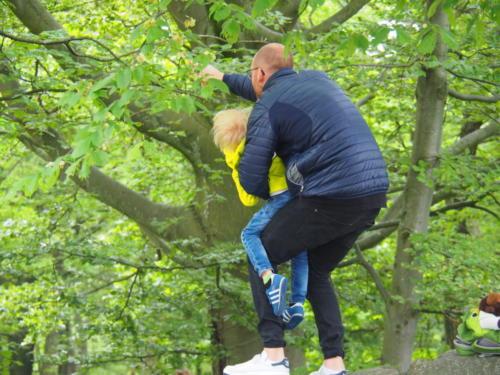 Auf Spurensuche der Tiere im Slottkogan Stadtpark